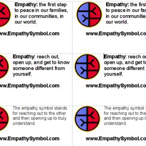 EmpathySymbolBusinessCardsDoc