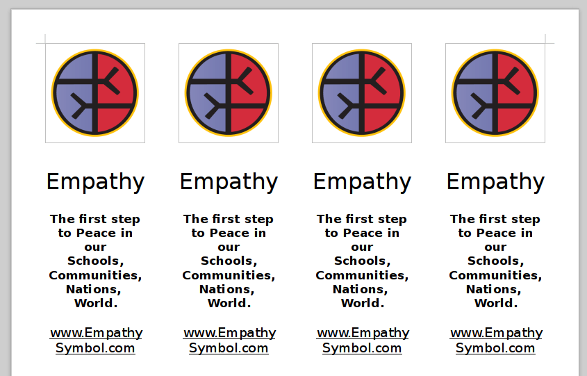 Free Empathy Bookmarks...